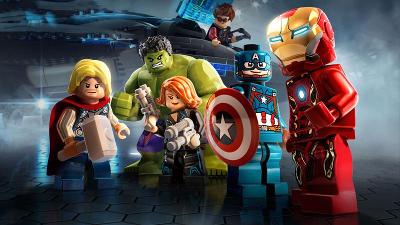Lista Set LEGO Super Heroes - Marvel