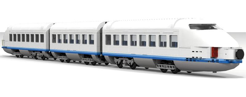 Lista Set LEGO Trains - Trano Alta Velocità