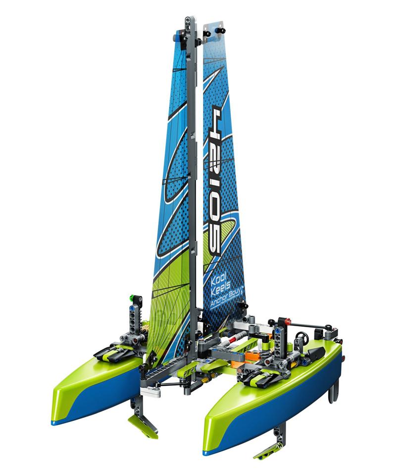 Rivelati 7 nuovi Set LEGO Technic - Gennaio 2020 - Catamarano (42105)