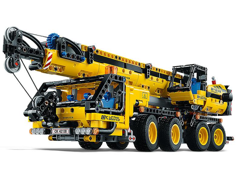 Rivelati 7 nuovi Set LEGO Technic - Gennaio 2020 - Gru Mobile (42108)