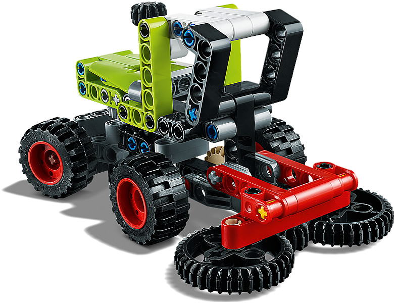 Rivelati 7 nuovi Set LEGO Technic - Gennaio 2020 - Mini Trattore CLAAS XERION (42102)
