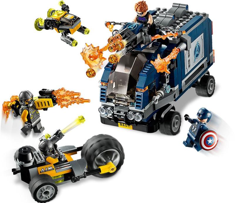 Rivelati Set LEGO Marvel Avengers e Spider-Man - Gennaio 2020 - Camion Take-Down degli Avengers (76143)