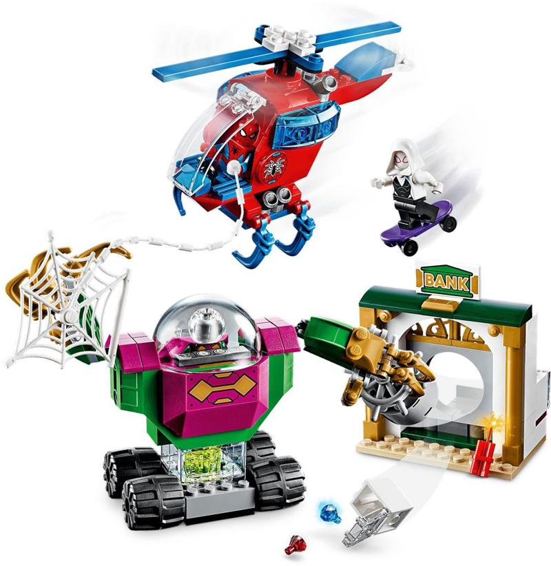 Rivelati Set LEGO Marvel Avengers e Spider-Man - Gennaio 2020 - La Minaccia di Mysterio (76149)