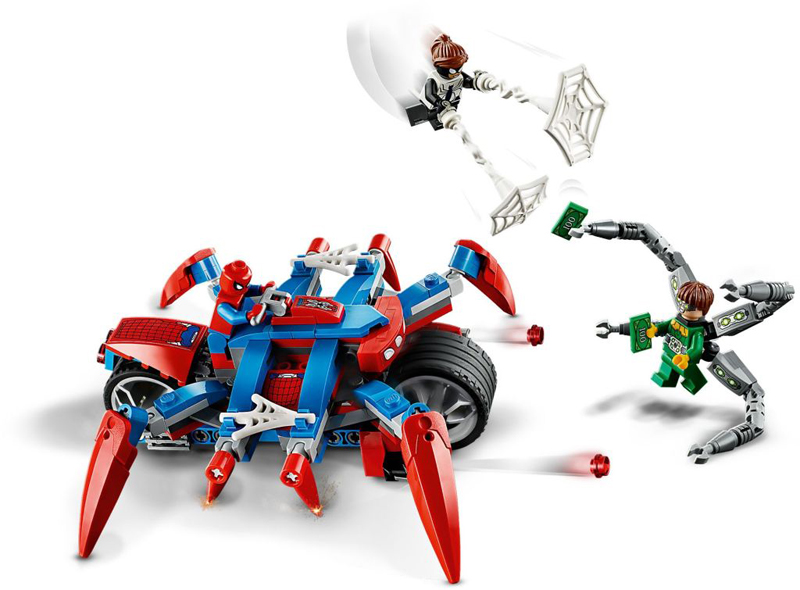 Rivelati Set LEGO Marvel Avengers e Spider-Man - Gennaio 2020 - Spider-Man vs. Doc Ock (76148)