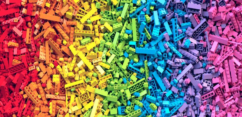 Rivelato LEGO Braille - Nuovi mattoncini Braille per Bambini non vedenti e ipovedenti per il 2020 - LEGO Normali