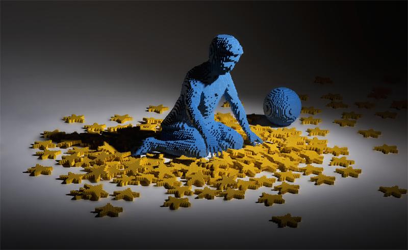 Diventa un LEGO Master Builder - Scultura Bambino