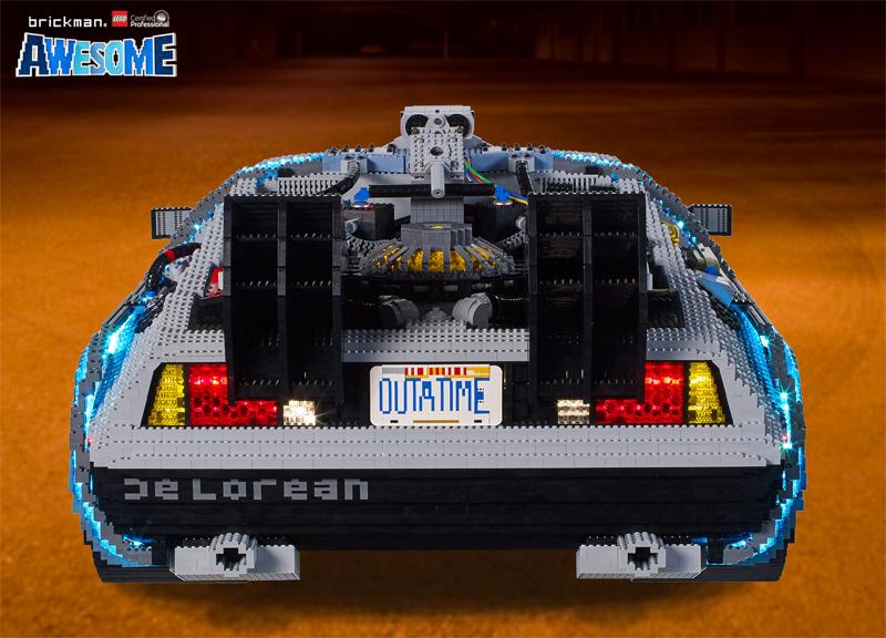 Diventa un LEGO Master Builder - Scultura DeLorean Ritorno al Futuro