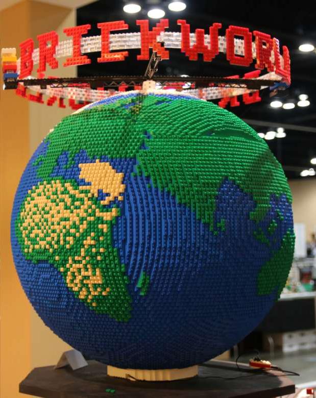 Diventa un LEGO Master Builder - Scultura Globo Terracqueo