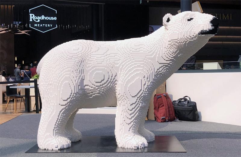 Diventa un LEGO Master Builder - Scultura Orso Bianco