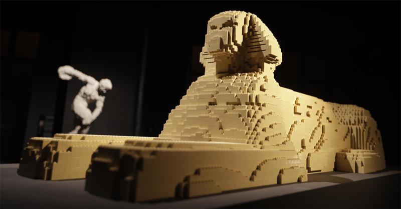 Diventa un LEGO Master Builder - Scultura Sfinge