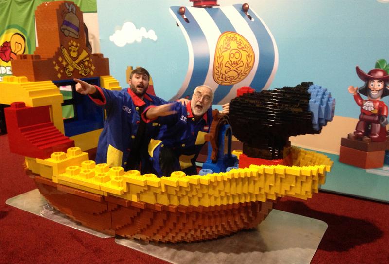 Diventa un LEGO Master Builder - Scultura Steve Gerling Nave