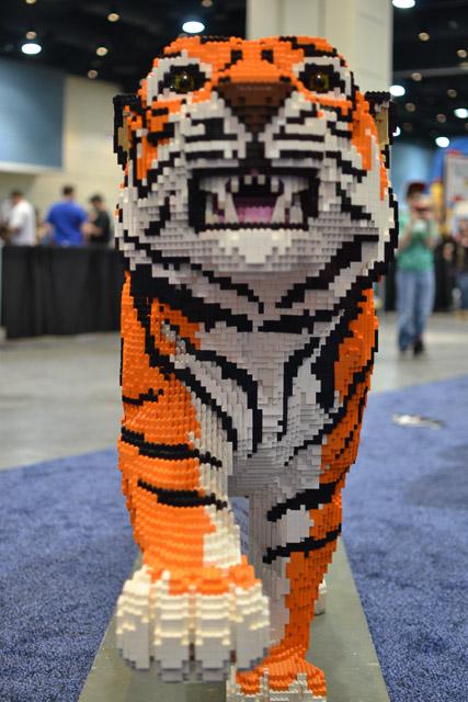 Diventa un LEGO Master Builder - Scultura Steve Gerling Tigre