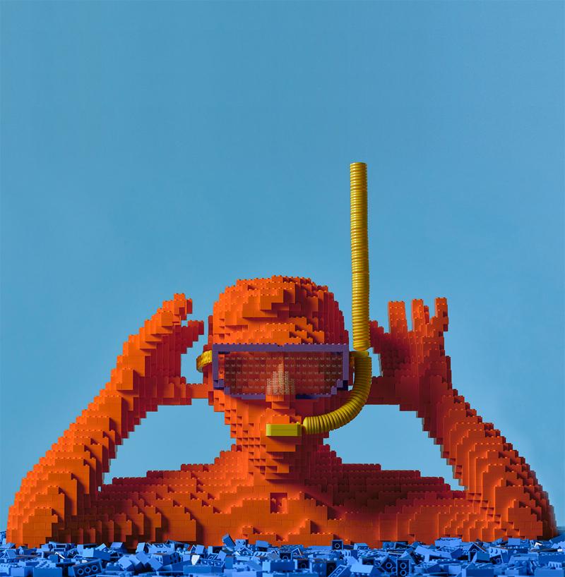 Diventa un LEGO Master Builder - Scultura Riccardo Zangelmi Sub