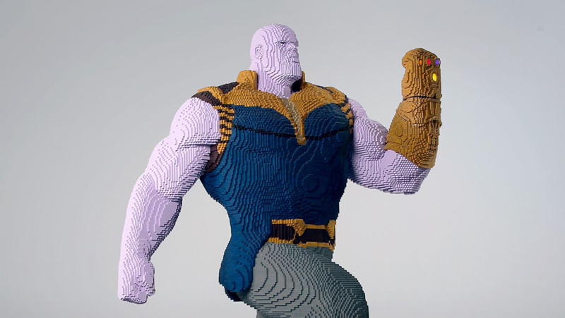 Diventa un LEGO Master Builder - Scultura Thanos