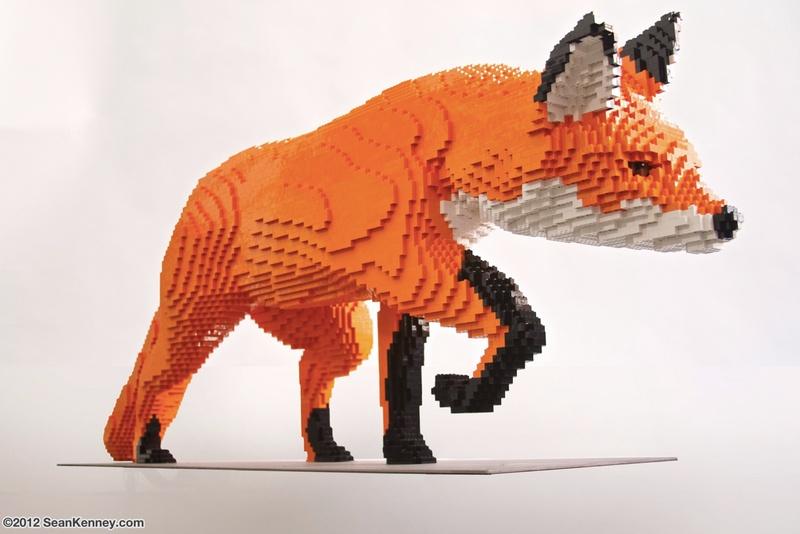 Diventa un LEGO Master Builder - Scultura Volpe