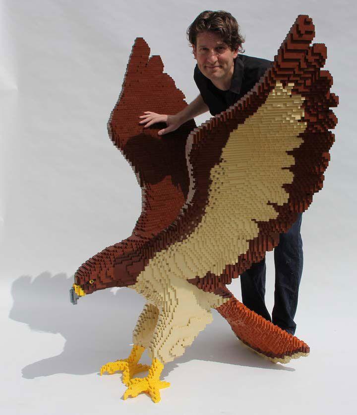 Le Sculture LEGO di di Nathan Sawaya - Vedo il Mondo in Rettangoli - LEGO Master Builder