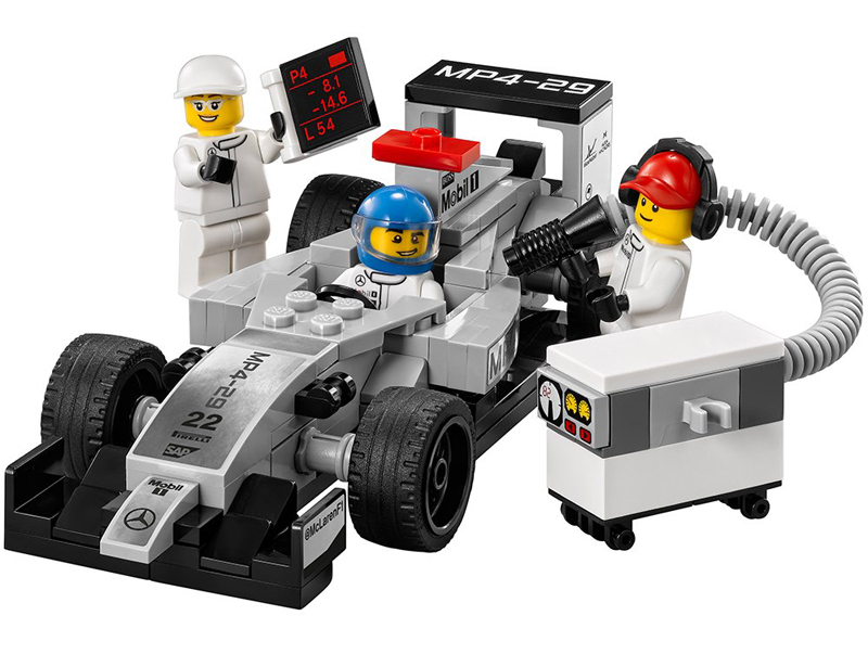 LEGO Speed Champions - auto da F1 Mercedes MP4-29 - set 75911