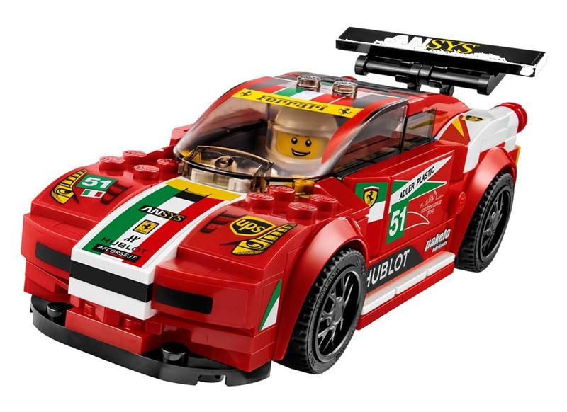LEGO Speed Champions - Ferrari 458 Italia GT2 - set 75908