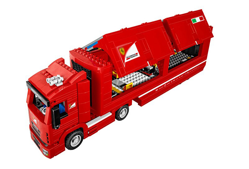 LEGO Speed Champions - Camion Scuderia Ferrari, set 75913