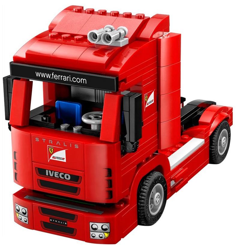 LEGO Speed Champions - Ferrari F14-T e Camion Scuderia Ferrari, set 75913 - Motrice del Camion Ferrari