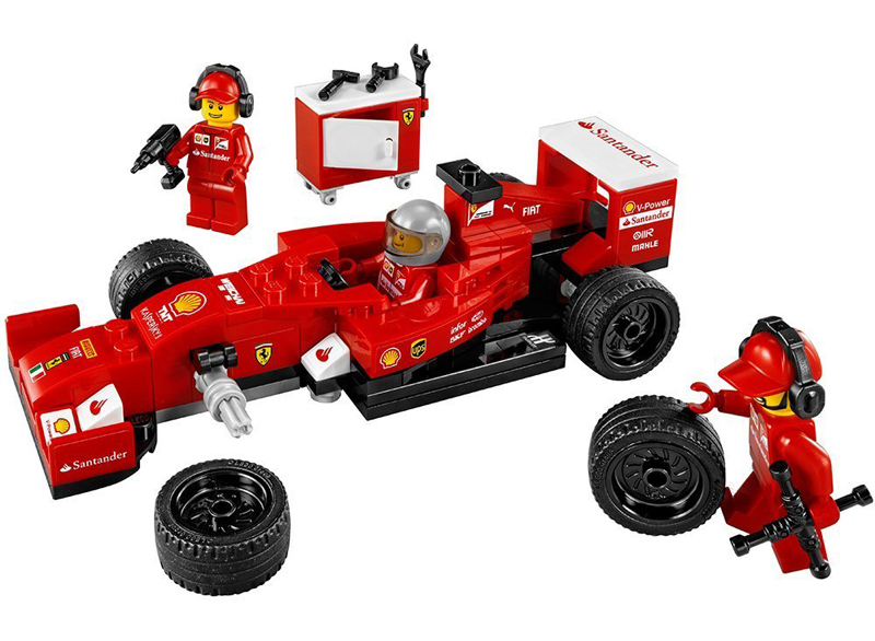 LEGO Speed Champions - Ferrari F14-T, set 75913