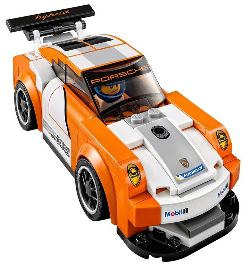 LEGO Speed Champions - Porsche 911 GT e Linea del Traguardo - set 75912 - Porsche 911 GT3 Hybrid