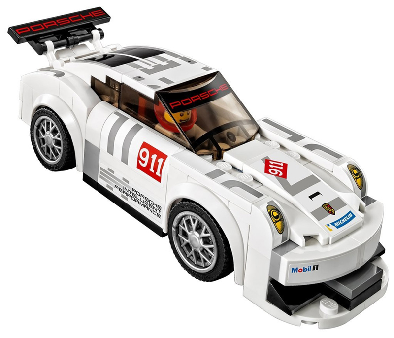 LEGO Speed Champions - Porsche 911 GT e Linea del Traguardo - set 75912 - Porsche 911 RSR