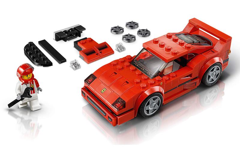 Lista Minifigure LEGO Speed Champions Ferrari