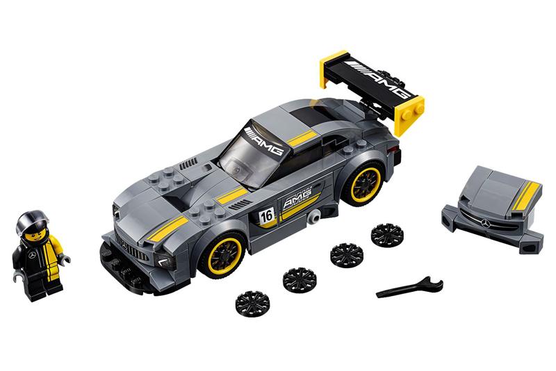 Lista Minifigure LEGO Speed Champions Mercedes-Benz