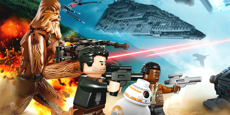 Lista Minifigure LEGO Star Wars Episodio 8: L'Ultimo Jedi
