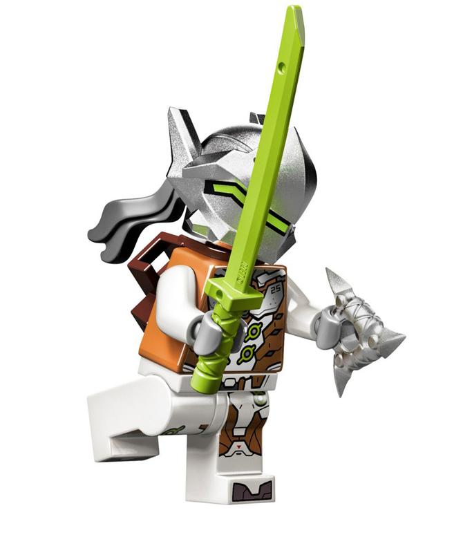 Minifigura LEGO Overwatch - Genji