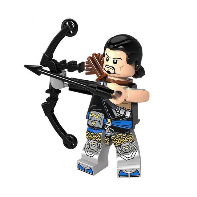 Minifigura LEGO Overwatch - Hanzo