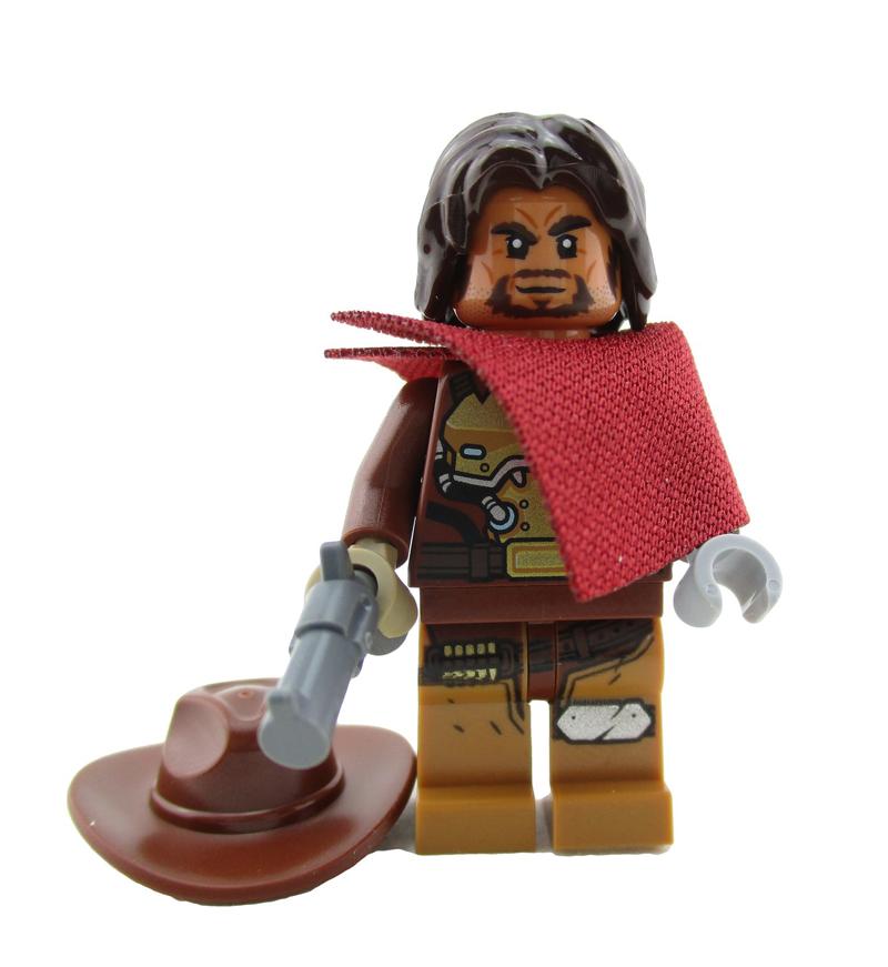 Minifigura LEGO Overwatch - Jesse McCree