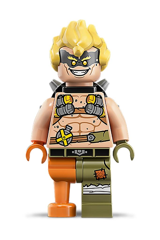Minifigura LEGO Overwatch - Junkrat