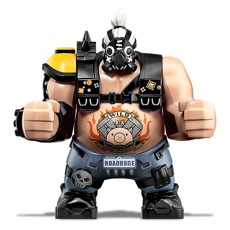 Minifigura LEGO Overwatch - Roadhog