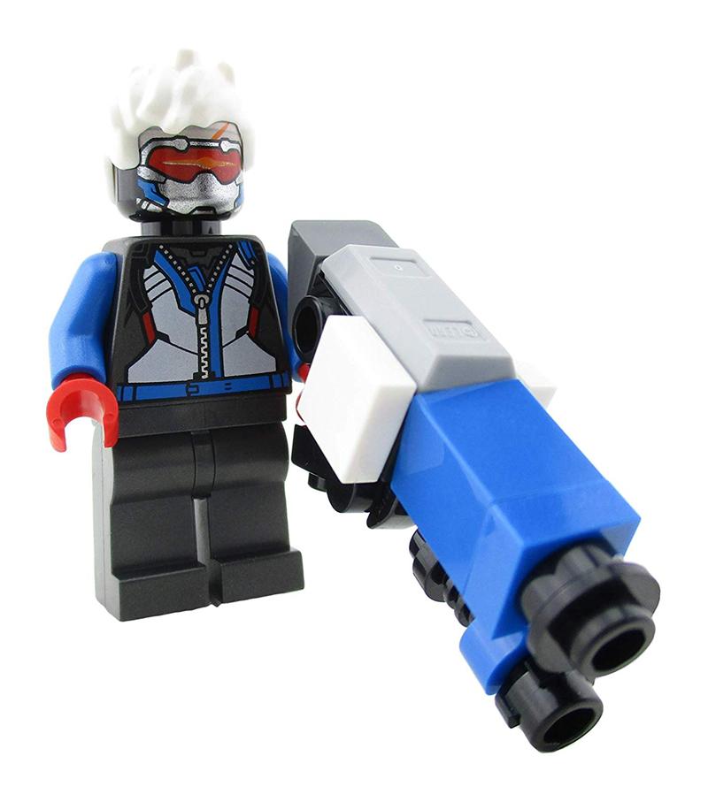 Minifigura LEGO Overwatch - Soldier: 76