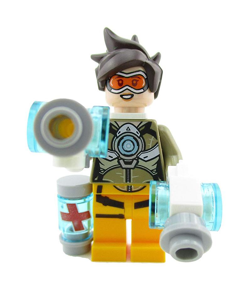 Minifigura LEGO Overwatch - Tracer