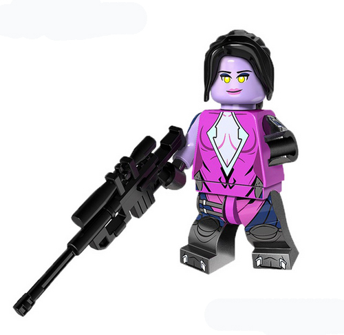 Minifigura LEGO Overwatch - Widowmaker
