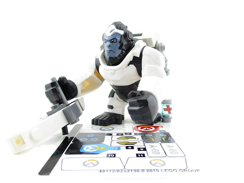 Minifigura LEGO Overwatch - Winston