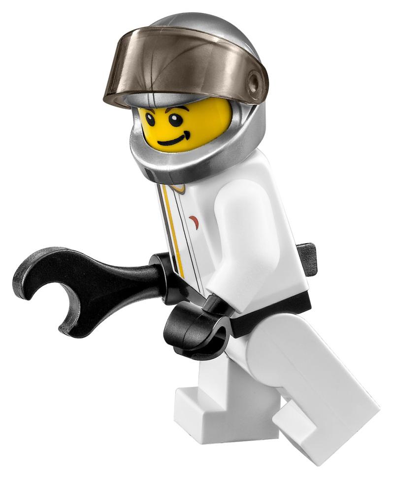 Minifigura LEGO Speed Champions - Pilota della McLaren P1