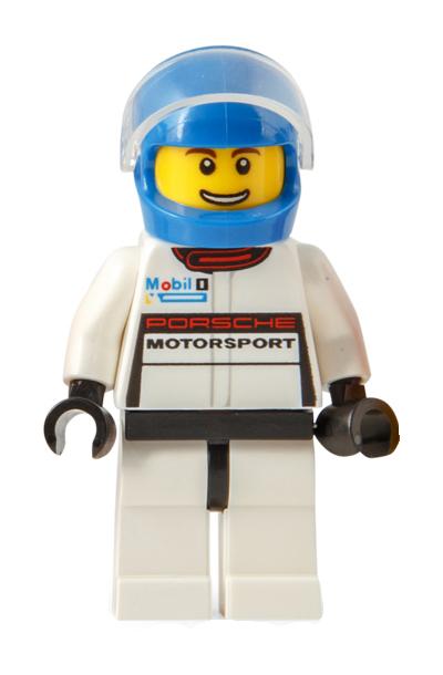 Minifigura LEGO Speed Champions - Pilota della Porsche 911 RSR