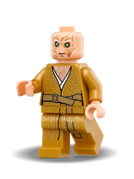 Minifigura LEGO Star Wars – Capo Supremo Snoke – Episodio 8: L'Ultimo Jedi