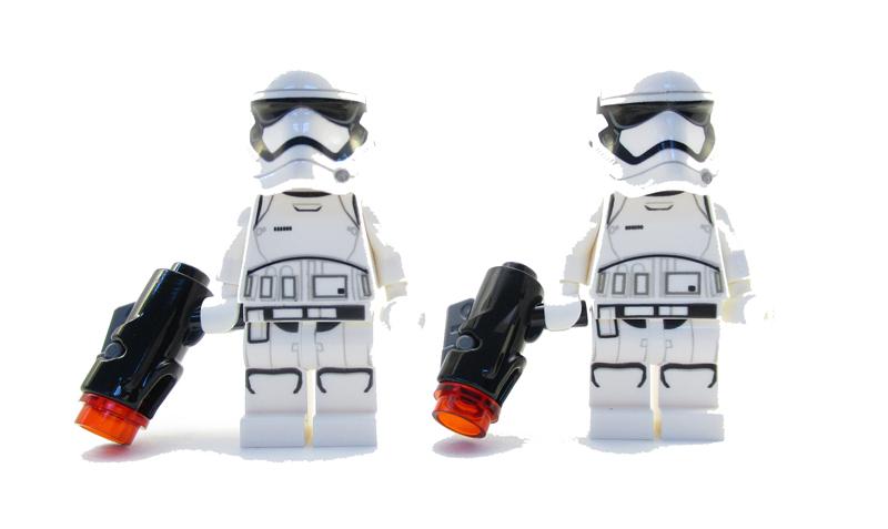 Minifigura LEGO Star Wars - Stormtrooper del Primo Ordine - Episodio 8: L'Ultimo Jedi