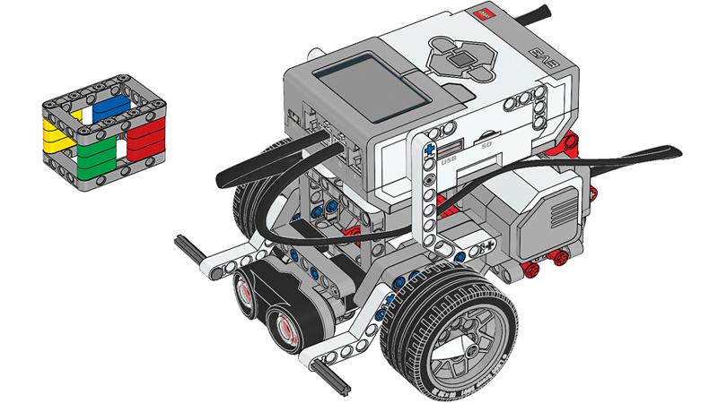 Educazione LEGO - Oggetti e Ostacoli